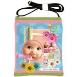 flower baby - Shoulder Sling Bag