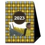 Desktop Calendar 6  x 8.5  : For the Boys