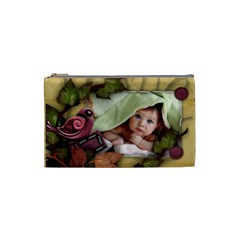 Small Cosmetic Bag Xmas Gift By Amarie   Cosmetic Bag (small)   Dbk50lrwrtqa   Www Artscow Com Front