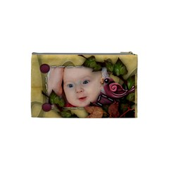 Small Cosmetic Bag Xmas Gift By Amarie   Cosmetic Bag (small)   Dbk50lrwrtqa   Www Artscow Com Back