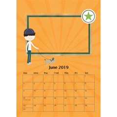 Desktop Calendar 6  X 8 5 : Cool Dude By Jennyl   Desktop Calendar 6  X 8 5    R4cdq8mefb7r   Www Artscow Com Jun 2016