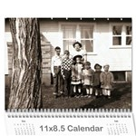 all dates calendar - Wall Calendar 11  x 8.5  (12-Months)