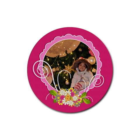 Round Coaster   A By Angel   Rubber Coaster (round)   Vy8toze31upl   Www Artscow Com Front