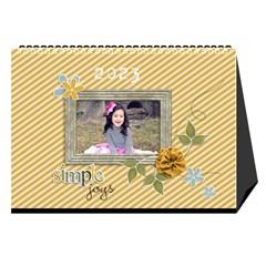 Desktop Calendar 8 5  X 6 : Simple Joys By Jennyl   Desktop Calendar 8 5  X 6    N29mbo0vu6dk   Www Artscow Com Cover