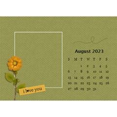 Desktop Calendar 8 5  X 6 : Simple Joys By Jennyl   Desktop Calendar 8 5  X 6    N29mbo0vu6dk   Www Artscow Com Aug 2016