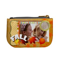Fall Kids By Joely   Mini Coin Purse   S9pnyzoz6iha   Www Artscow Com Back