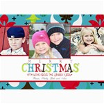 Colorful Christmas Card - 5  x 7  Photo Cards