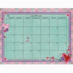 Calendar 2012 1 By Thaneenard   Wall Calendar 11  X 8 5  (12 Months)   4slo1hlrekfu   Www Artscow Com Feb 2012