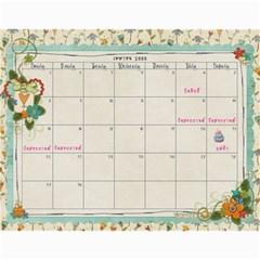 Calendar 2012 1 By Thaneenard   Wall Calendar 11  X 8 5  (12 Months)   4slo1hlrekfu   Www Artscow Com Apr 2012