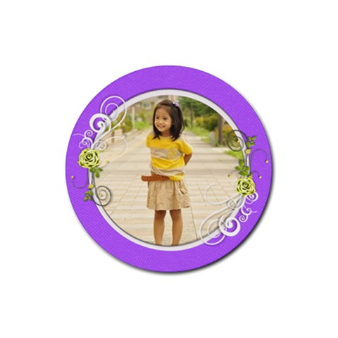 Coaster   G By Angel   Rubber Coaster (round)   6iz64llr6ase   Www Artscow Com Front