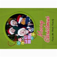Christmas Card 3 By Martha Meier   5  X 7  Photo Cards   Pkthm3d7nxsu   Www Artscow Com 7 x5 Photo Card - 7