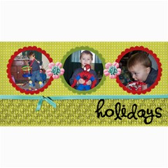 Holiday Card By Martha Meier   4  X 8  Photo Cards   S8q12684ejhp   Www Artscow Com 8 x4 Photo Card - 1