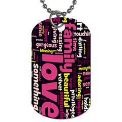 Mia 2011 By Cajazl   Dog Tag (two Sides)   Yiwbdejp5nii   Www Artscow Com Front