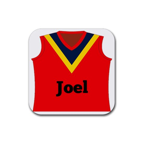 Footy Coaster By Mum2 3boys   Rubber Coaster (square)   Ohdn13spsc8c   Www Artscow Com Front