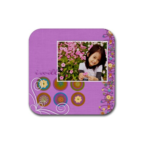 So In Love   Coaster 1 By Angel   Rubber Coaster (square)   Cvcoohk5vrnj   Www Artscow Com Front