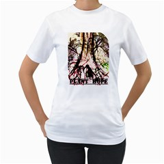 Plant Hope By Erica   Women s T Shirt (white) (two Sided)   R0rknlx1g7py   Www Artscow Com Front