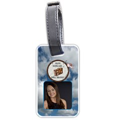 Have Suitcase     Will Travel Luggage Tag (2 Sides) By Lil    Luggage Tag (two Sides)   Z2ecej459pmg   Www Artscow Com Front