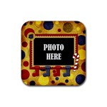 Lone Star Holidays Coaster 1 - Rubber Coaster (Square)