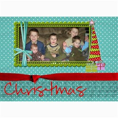 Christmas Card 13 By Martha Meier   5  X 7  Photo Cards   Dpc9nivyfn42   Www Artscow Com 7 x5 Photo Card - 8