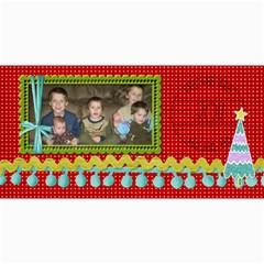 Ho Ho Ho Card By Martha Meier   4  X 8  Photo Cards   7q87nssackip   Www Artscow Com 8 x4 Photo Card - 9