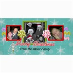 3 picture card - 4  x 8  Photo Cards