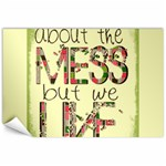 MESS Canvas print - Canvas 20  x 30