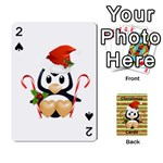 Christmas Cards Stocking Stuffer - Playing Cards 54 Designs