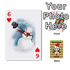 Christmas Cards Stocking Stuffer By Laurrie   Playing Cards 54 Designs   Acoe43j1wu61   Www Artscow Com Front - Heart6