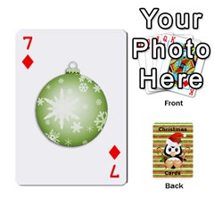 Christmas Cards Stocking Stuffer By Laurrie   Playing Cards 54 Designs   Acoe43j1wu61   Www Artscow Com Front - Diamond7