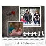 Grandpa Stroh - Wall Calendar 11  x 8.5  (12-Months)