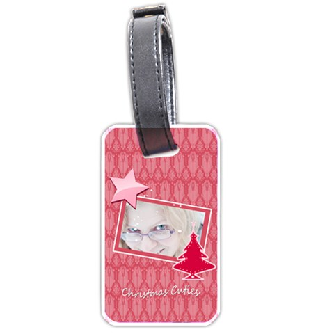 Xmas  By May   Luggage Tag (one Side)   Egbugf49zz8n   Www Artscow Com Front