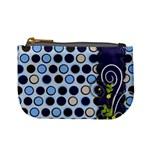 mini coin purse - blue