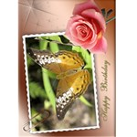 Birthday (any occasion) Card (5x7) 1 - Greeting Card 5  x 7