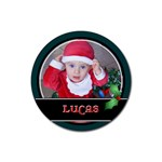 Christmas Drink Coaster - Rubber Coaster (Round)