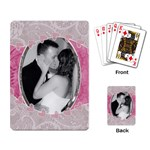 Pink Hearts Playing Cards - Playing Cards Single Design