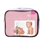 i love you - Mini Toiletries Bag (One Side)