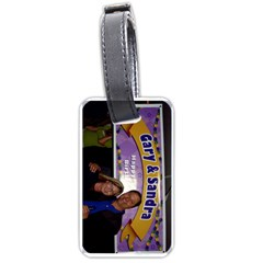 Sandraluggage By Sandra Oldham   Luggage Tag (two Sides)   Elmn67a0vtws   Www Artscow Com Front
