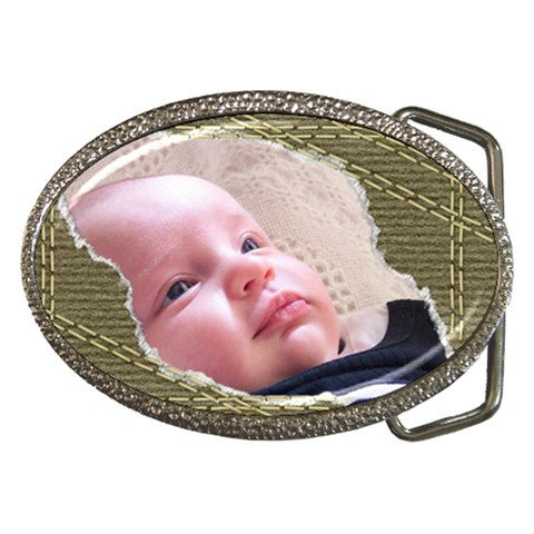 My Son Belt Buckle By Deborah   Belt Buckle   Ze10118069lo   Www Artscow Com Front