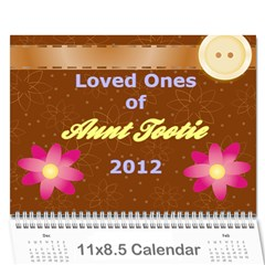 Tootie Calendar 2012 By Colton   Wall Calendar 11  X 8 5  (12 Months)   4l27tzid5d3v   Www Artscow Com Cover