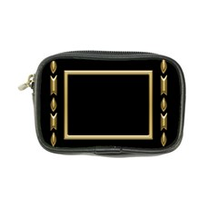 Black And Gold Coin Purse By Deborah   Coin Purse   W94wr1q93rdm   Www Artscow Com Front