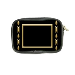 Black And Gold Coin Purse By Deborah   Coin Purse   W94wr1q93rdm   Www Artscow Com Back