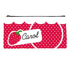 Stawberries Pencil Case 01 By Carol   Pencil Case   2gb6lxv4o8fc   Www Artscow Com Front