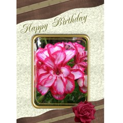 Happy Birthday (any Occasion) 5x7 Card By Deborah   Greeting Card 5  X 7    B7gmzh74jrt8   Www Artscow Com Front Cover