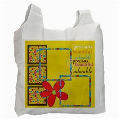 Recycle Bag   2 Sides   Genuine Love By Angel   Recycle Bag (two Side)   Uj8oq7antedr   Www Artscow Com Front