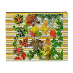 Give Thanks Cosmetic Bag (xl) By Elena Petrova   Cosmetic Bag (xl)   E5i950g2r4jj   Www Artscow Com Back