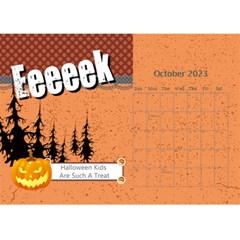 Fall Theme Season Calendar By Joely   Desktop Calendar 8 5  X 6    F5npkyp7h7un   Www Artscow Com Oct 2015