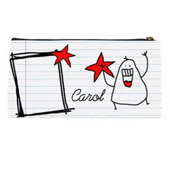 Garabatos Pencil Case 01 By Carol   Pencil Case   A3v19wn6aop4   Www Artscow Com Back