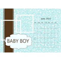 Baby Boy By Joely   Desktop Calendar 8 5  X 6    I60rpqu2595g   Www Artscow Com Jun 2015