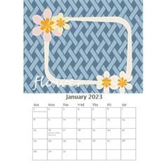 Flower Worlds By Joely   Desktop Calendar 6  X 8 5    95v6gzgs3lea   Www Artscow Com Jan 2015