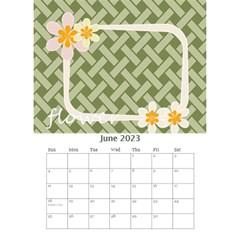 Flower Worlds By Joely   Desktop Calendar 6  X 8 5    95v6gzgs3lea   Www Artscow Com Jun 2015